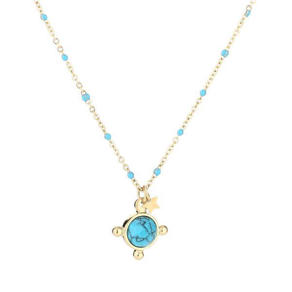 JE11519 - BLUE/GOLD