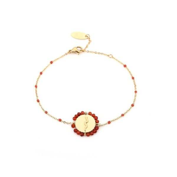 JE11692 - RED/GOLD