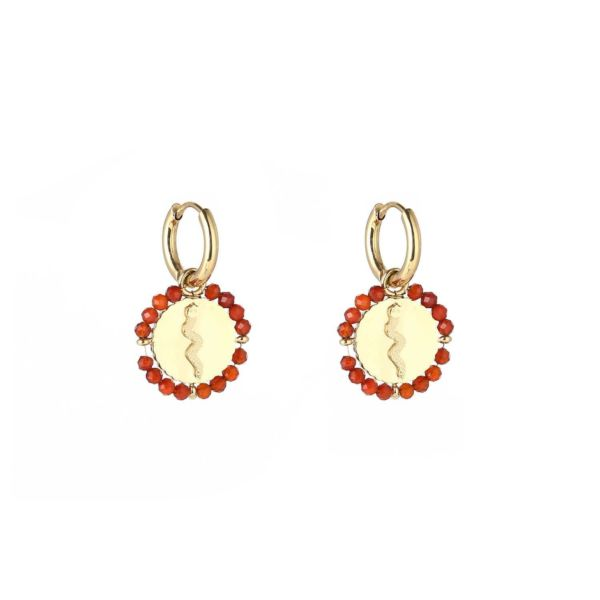JE11693 - RED/GOLD