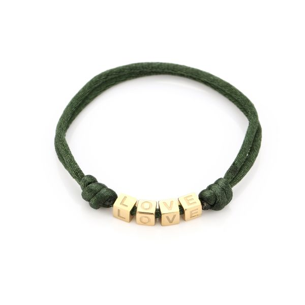 JE12369 - ARMY GREEN/GOLD