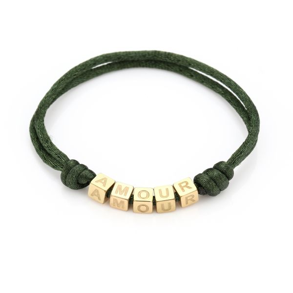 JE12370 - ARMY GREEN/GOLD
