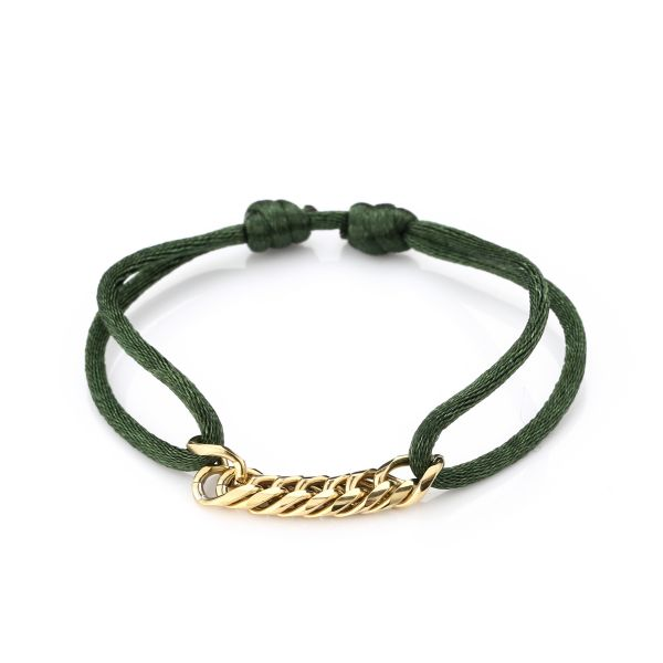 JE12489 - ARMY GREEN/GOLD