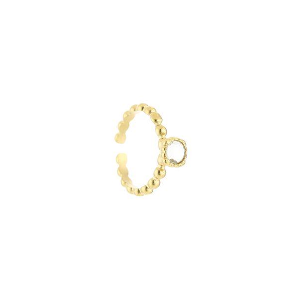 JE12885 - CRYSTAL/GOLD