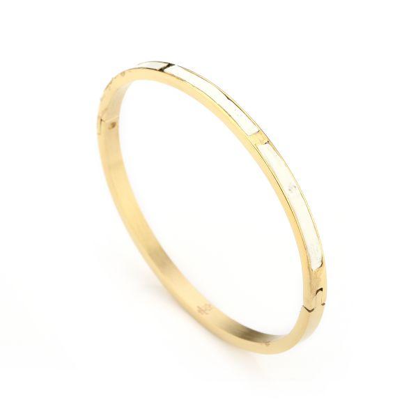 JE13375 - WHITE/GOLD