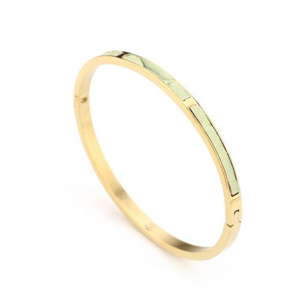 JE13375 - GREEN/GOLD