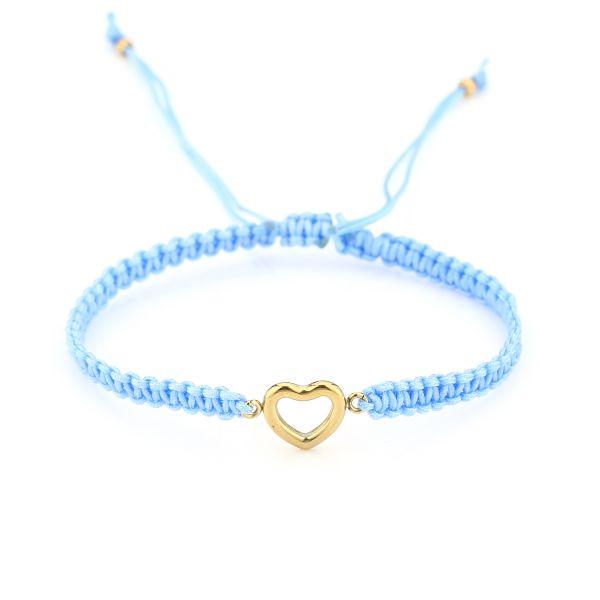 JE13411 - BLUE - Enkelbandje