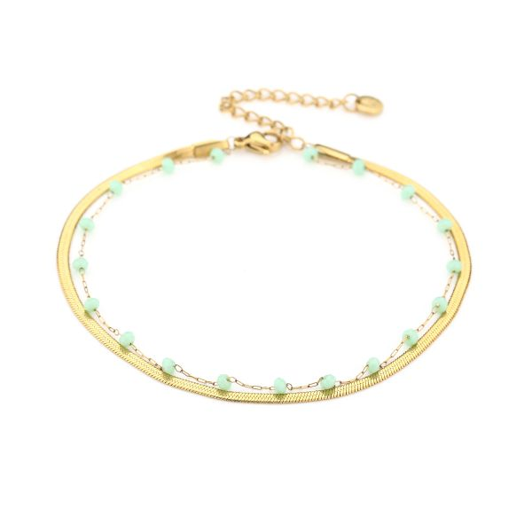 JE13460 - GREEN/GOLD