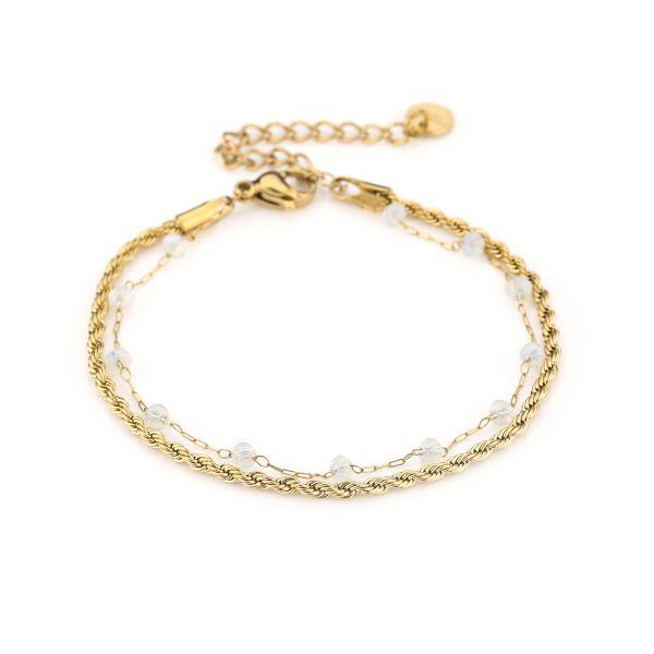 JE13461 - WHITE/GOLD