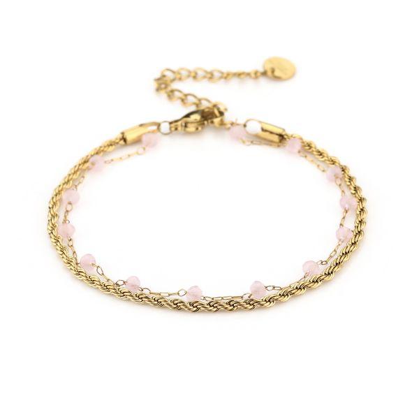 JE13461 - PINK/GOLD