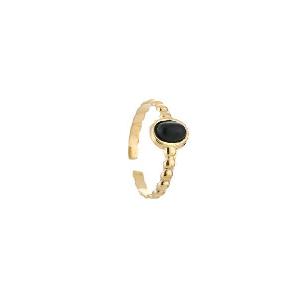 JE13543 - BLACK/GOLD
