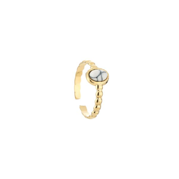 JE13543 - WHITE/GOLD