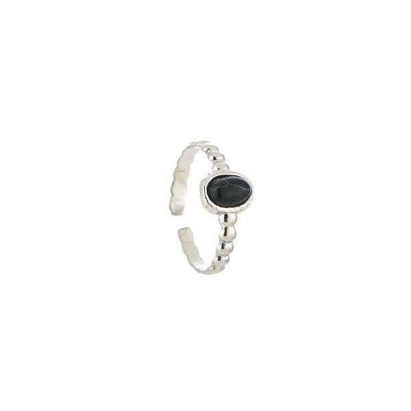 JE13543 - BLACK/SILVER