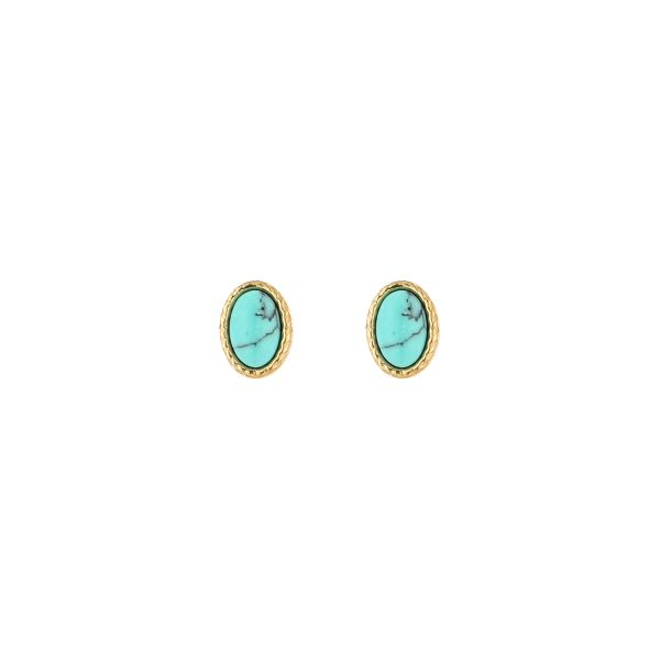 JE13544 - TURQUOISE/GOLD