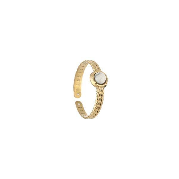 JE13545 - WHITE/GOLD