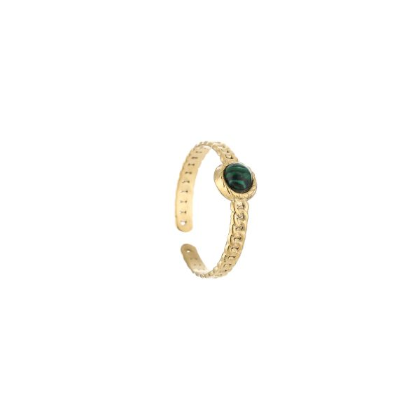 JE13545 - GREEN/GOLD