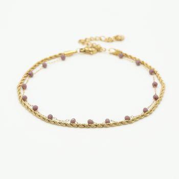 JE13462 - PURPLE/GOLD